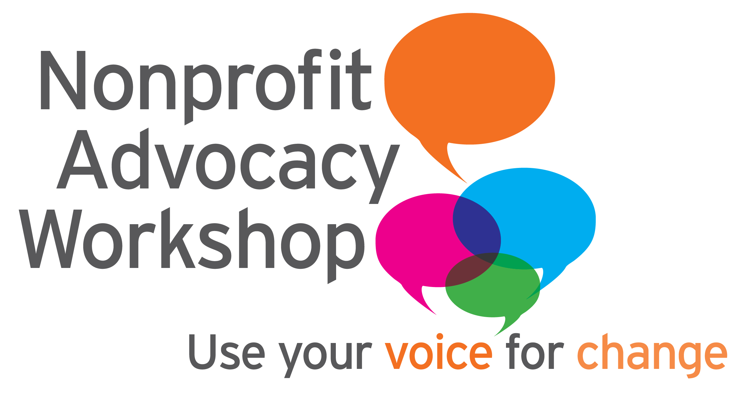 Nonprofit Advocacy Workshop Logo