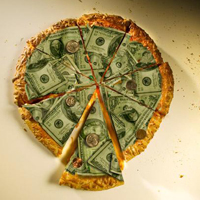 Money pie