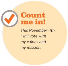 image of Count Me In button